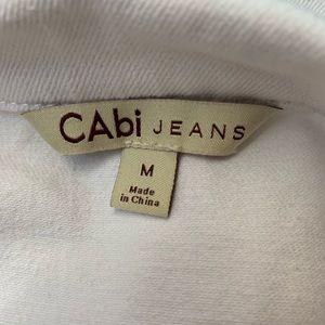 CAbi Jackets & Coats - CABI Jeans White Jacket